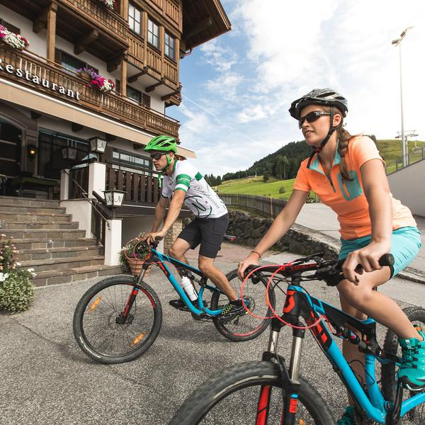 mountainbikeurlaub in maria alm