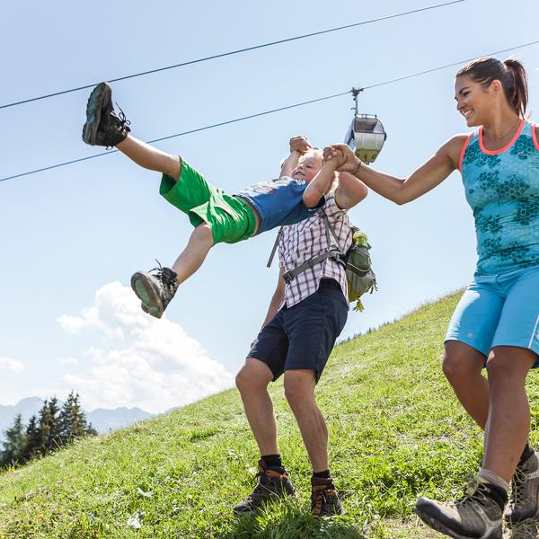 familienwanderung in maria alm